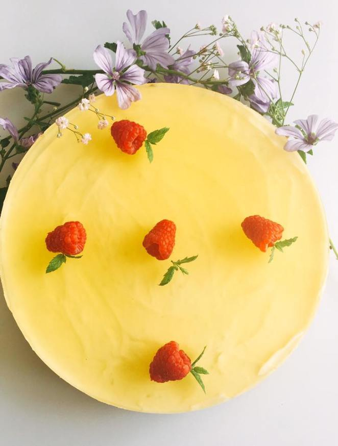 gin and tonic cheesecak