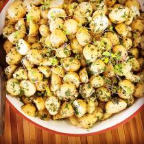 healthy potato salad